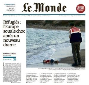 Le Monde page 1ok